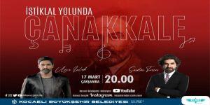 """Büyükşehir'den """"İstiklal Yolunda  Çanakkale"""" programı"""