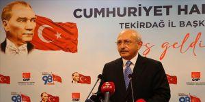CHP Genel Başkanı Kılıçdaroğlu: Siyasi partiler demokrasinin vazgeçilmez unsurlarıdır