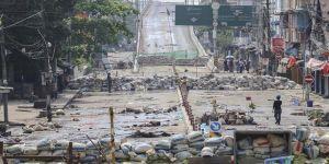 Myanmar'da bugünkü protestolarda en az 8 kişi yaşamını yitirdi