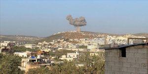 Esed rejimi İdlib'de füzelerle TIR parkını vurdu: 7 sivil yaralı