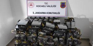 Gebze Kripto para üretmek için işyerinden 600 bin TL'lik cihaz çaldı