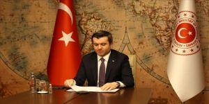 Dışişleri Bakan Yardımcısı Kıran, BM ve AB'nin düzenlediği Suriyeliler için yardım konferansında konuştu