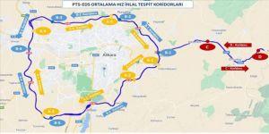 Ankara çevre yolu ile Kırıkkale arasında 'ortalama hız koridoru' oluşturuldu