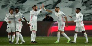 Real Madrid evinde kazandı