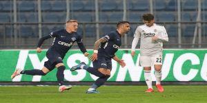 Beşiktaş, 8 maç sonra yenildi