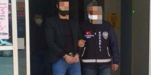 İzmit'te 12 yıl ağır hapis cezası ile aranan şahıs yakalandı