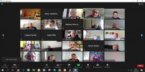 KSO Meslek Komiteleri Müşterek Toplantısı On Line yapıldı
