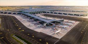 İstanbul Havalimanı, 14 Nisan'da düzenlenen 604 uçuşla Avrupa'da zirveyi bırakmadı