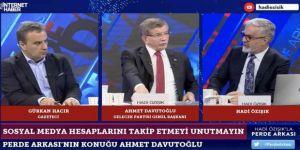 Davutoğlu, trol çeteleriyle AK Parti'de yaratılan fitneye dikkat çekti