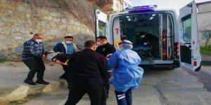 Gebze'de 14 yaşındaki çocuk merdivenlerden düşerek yaralandı