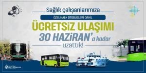 Sağlıkçılara ücretsiz ulaşım 30 Haziran'a kadar uzatıldı