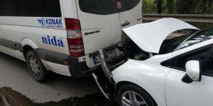 Gebze Cumhuriyet Mahallesi'nde trafik kazası meydana geldi