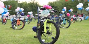 41 gence bisiklet hediye edilecek