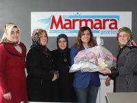 Ak Kadınların ilk ziyareti Çakır'a