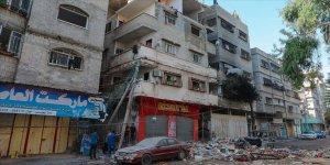 BM: İsrail'in Gazze'ye saldırıları sonucu en az 75 bin Filistinli yerinden edildi