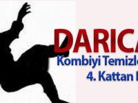 Darıca'da Kombiyi Temizleyen Kadın 4. Kattan Düştü