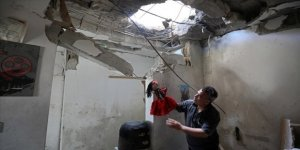 Gazze'de İsrail saldırılarından sanat da 'nasibini aldı'