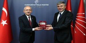 CHP Genel Başkanı Kılıçdaroğlu, Bulgaristan Hak ve Özgürlükler Hareketi Başkanı Karadayı'yı kabul etti