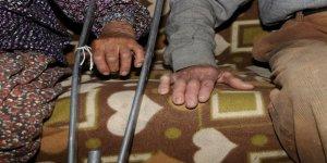 Gündelik faaliyetlerini yerine getiremeyen çiftin yaşam koşulları iyileştirildi