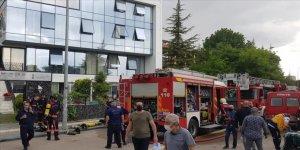 Başkentte özel bir huzurevinde yangın çıktı