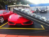 Lodos mağduru Ferrari!
