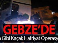 Film Gibi Kaçak Hafriyat Operasyonu