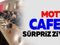 MOTTA CAFE'YE SÜRPRİZ ZİYARETÇİ