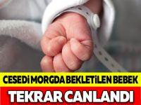 Cesedi Morgda Bekletilen Bebek Tekrar Canlandı