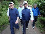 Bakan Işık Yuvacık'ta yürüyüşe katıldı