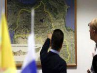 Moskova'da Açılan PYD Bürosunda Skandal Türkiye Haritası