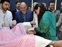 Sağlık Bakanı Mehmet Müezzinoğlu'da doğumu izledi