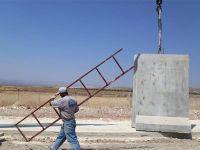 Türkiye-Suriye sınırına beton duvar örülüyor