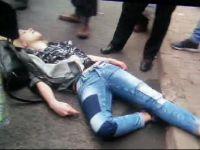 Genç Kadın Sokak Ortasında Kurşunlandı