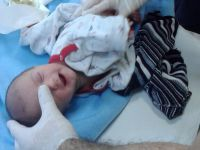 3 günlük bebeği sokağa attılar
