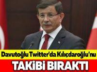 Davutoğlu Twitter'da Kılıçdaroğlu'nu takibi bıraktı