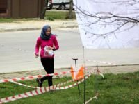 Başbakan Davutoğlu'nun kızı yarıştı
