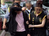 iki çocuk annesi 10 bin liraya bar kundaklattı