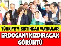 TÜRKİYE'Yİ SIRTINDAN VURDULAR! ERDOĞAN'I KIZDIRACAK GÖRÜNTÜ