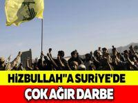 HİZBULLAH''A SURİYE'DE ÇOK AĞIR DARBE