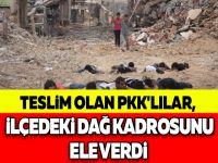 TESLİM OLAN PKK'LILAR, İLÇEDEKİ DAĞ KADROSUNU ELE VERDİ
