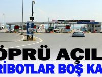 Osmangazi Köprüsü açılınca feribot boş kaldı