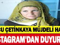 BURCU ÇETİNKAYA MÜJDELİ HABERİ ' 'INSTAGRAM'DAN DUYURDU''
