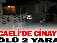 KOCAELİ'DE CİNAYET ! 1 ÖLÜ 2 YARALI