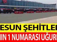 GİRESUN ŞEHİTLERİNİ TSK'NIN 1 NUMARASI UĞURLADI !