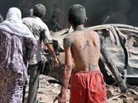 IŞID'in Bombayla Saldırdığı Kamışlı'daki Dehşet Anları Kamerada !