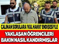 ÇALINAN SORULARA 'KUL HAKKI' ENDİŞESİYLE YAKLAŞAN ÖĞRENCİLERİ BAKIN NASIL KANDIRMIŞLAR !