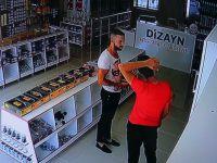 Sahte parayla alışveriş yapan dolandırıcı güvenlik kamerasına yakalandı