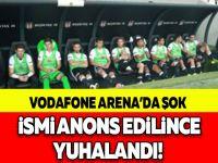 VODAFONE ARENA'DA ŞOK! İSMİ ANONS EDİLİNCE YUHALANDI!