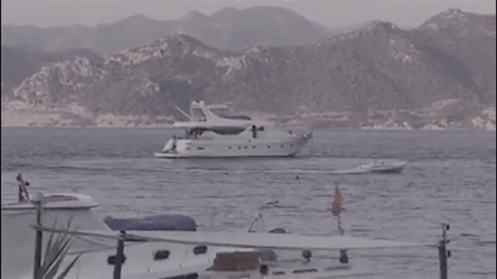 Kaptanı Denize Düşen Bot Korku Dolu Anlar Yaşattı