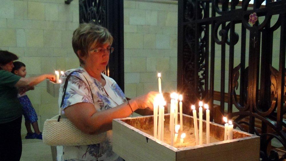 Vakıflı'da Meryem Ana Yortosu Kutlandı